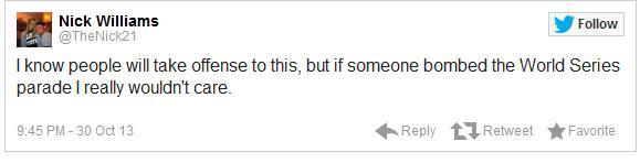 Red Sox Tweets