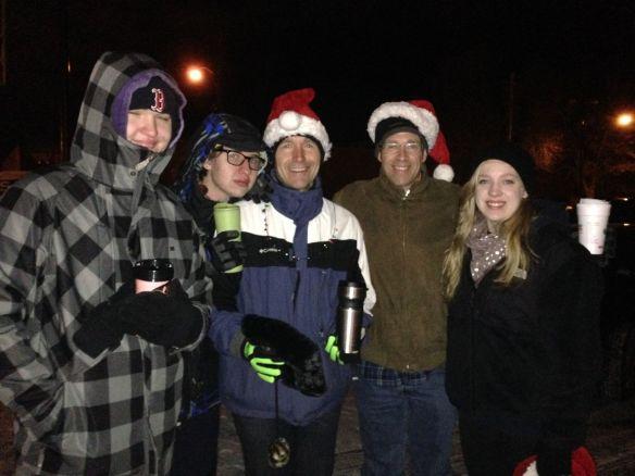 Christmas Running 201305