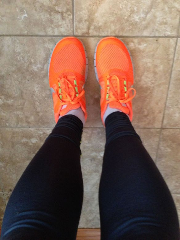 Running 2013 Shoes Orange1