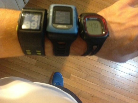 Three GPS Watches1