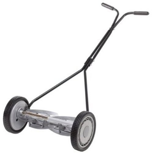 ozito manual push reel mower