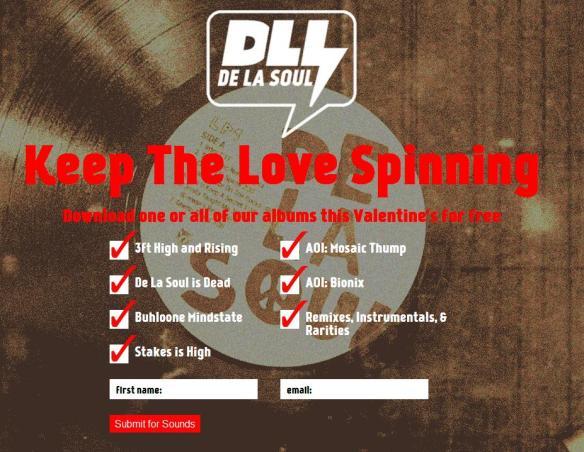 De La Soul Giveaway